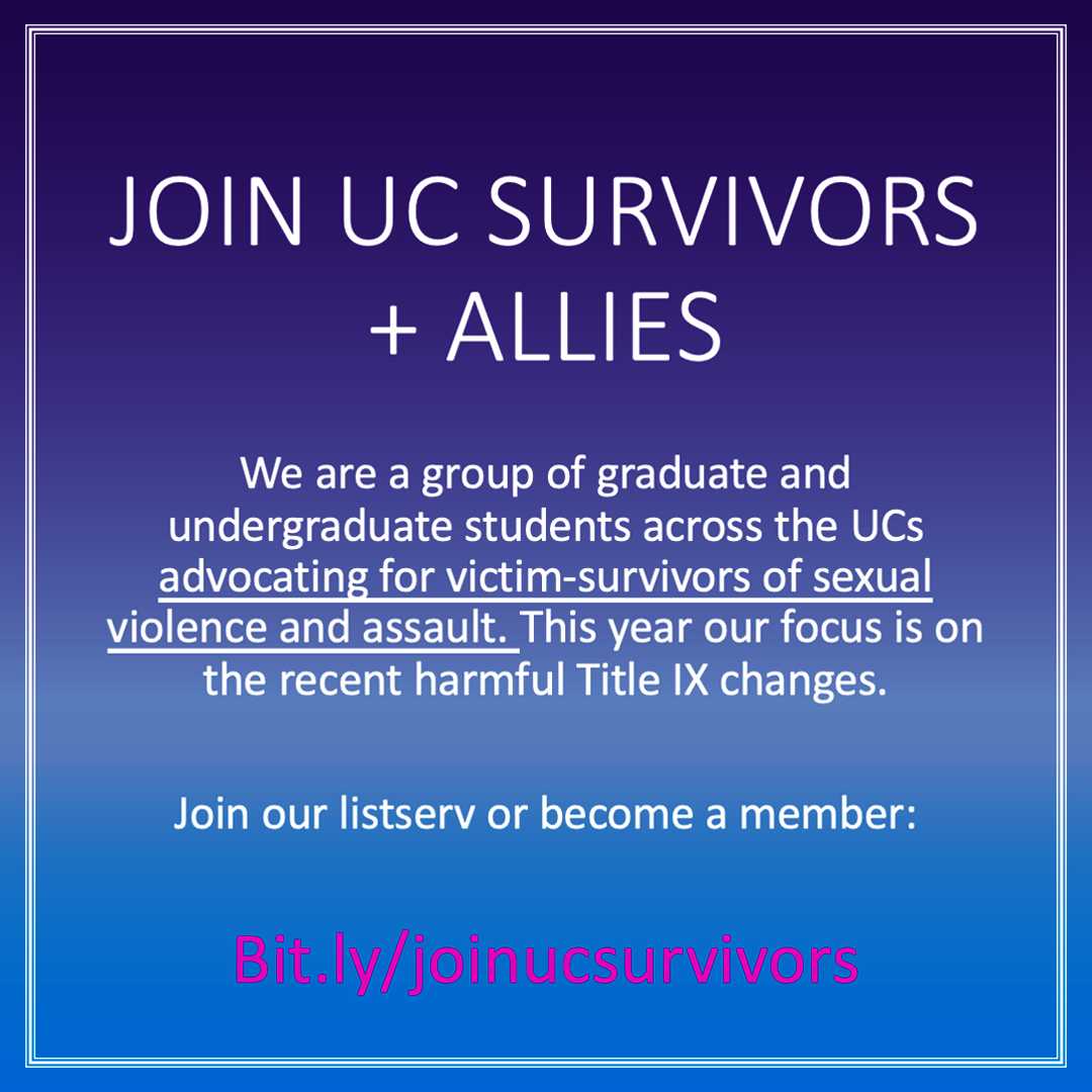 Join UC Survivors + Allies